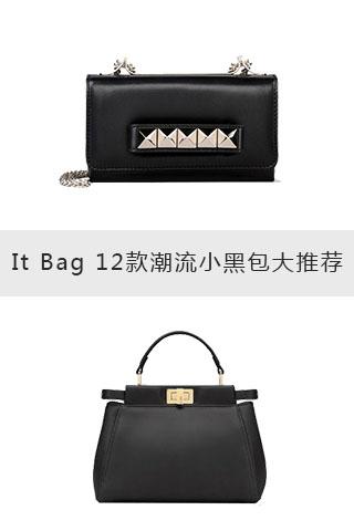 It Bag 12款潮流小黑包大推荐