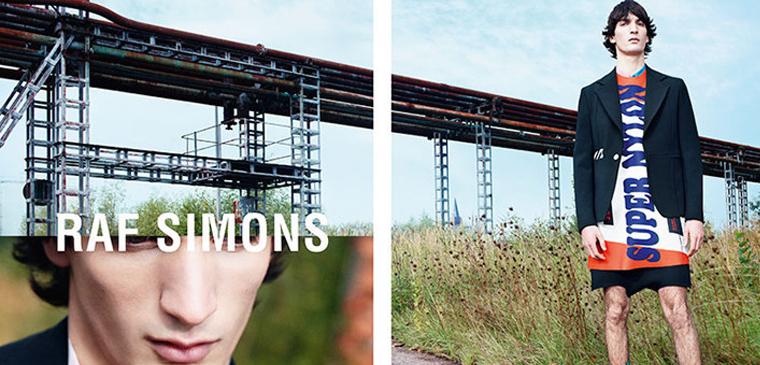 拉夫·西蒙广告图