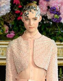 裸妆风席卷巴黎高定时装周