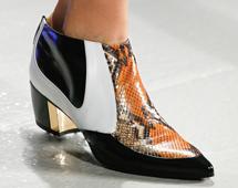 Rodarte野性蛇纹鞋