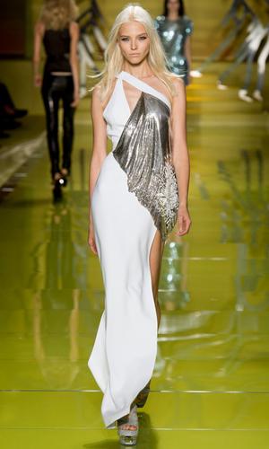 2014米兰时装周Versace春夏秀