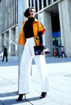莫小棋纽约的时尚