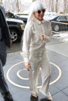 Lady Gaga白发魔女