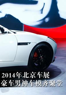 2014年北京车展 豪车男神车模齐聚堂