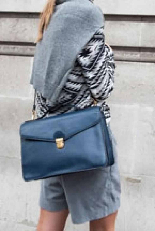 解放双手包包侧背 新式搭配法
