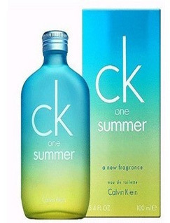 卡尔文克莱恩CKone summer 06限量版中性香水