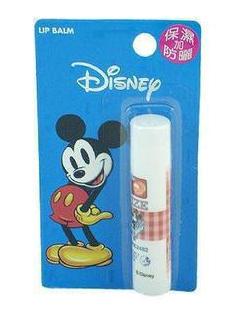 迪士尼蜜桃味唇膏