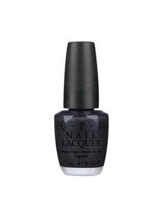 OPI黑色指甲油(玛瑙黑)