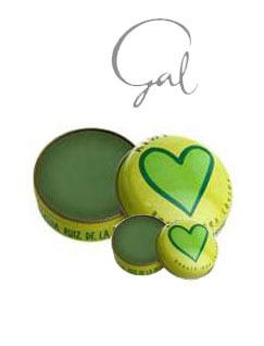 爱葛莎经典护唇膏 绿色奇迹-奇异果口味