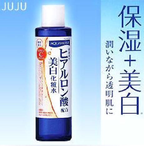 女人我最大推荐JUJU 高保湿玻尿酸+VC诱导体柔嫩美白化妆水
