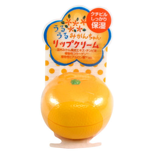 乐玩美研MIKAN CHAN柑橘润唇膏