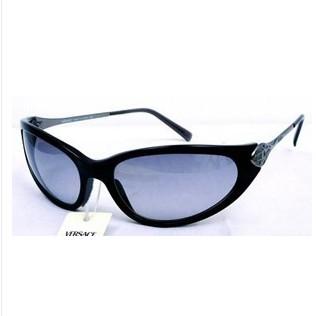 范思哲流线型黑框眼镜