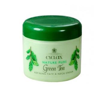 英国AA网Cyclax绿茶面颈霜