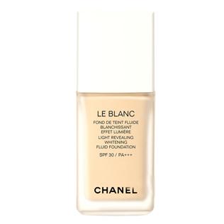香奈儿(Chanel)臻白防晒粉底液SPF30/PA+++
