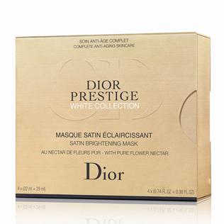 迪奥 (Dior) 花蜜活颜丝悦亮肤系列精华焕白面膜