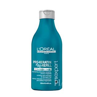 欧莱雅角蛋白修护洗发乳