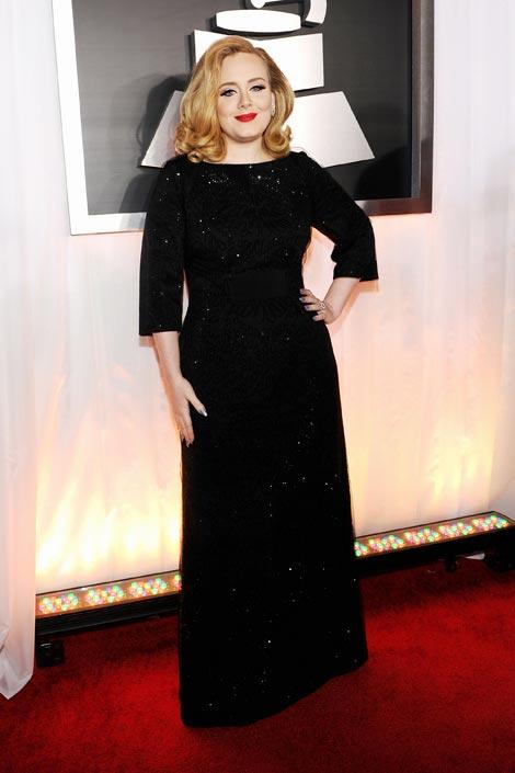盘点2012格莱美颁奖礼红毯女星