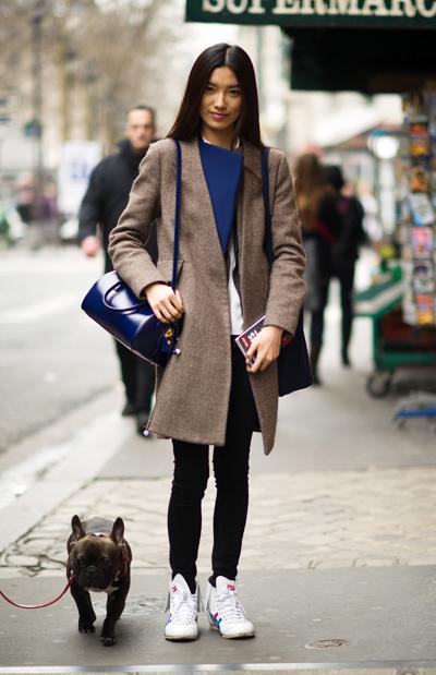 巴黎时尚街头 奢侈风