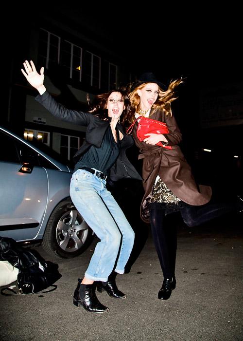 巴黎时装周模特街拍:起飞!-轻奢网