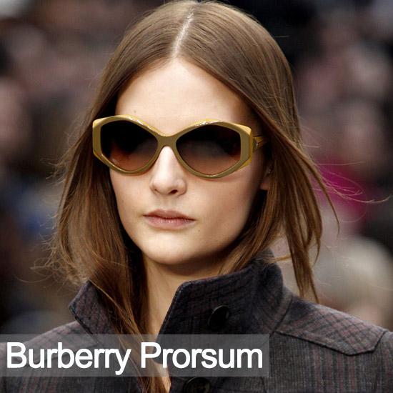 2012秋冬Burberry秀场中性英伦风