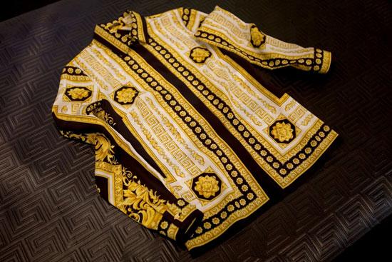 Versace 限量复刻版Vintage印花衬衫