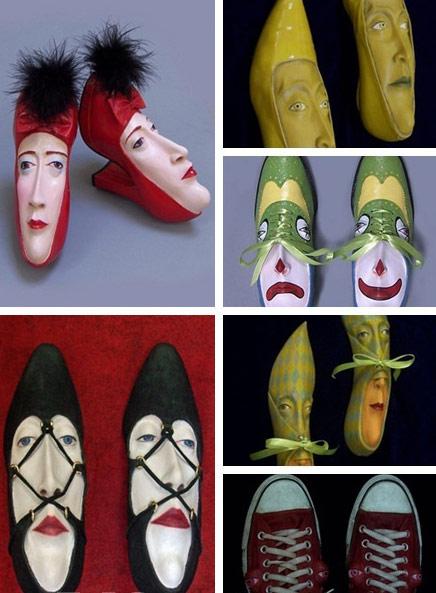 鞋上脸谱 每双鞋都有血性的宇宙