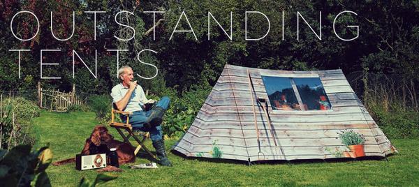 想搬回家的创意帐篷 让人神魂颠倒