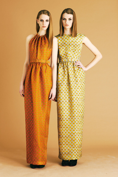 Jonathan Saunders 2012早秋系列女装