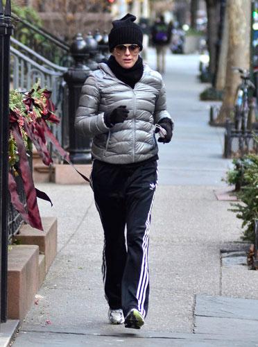 明星运动街拍 健身也时尚
