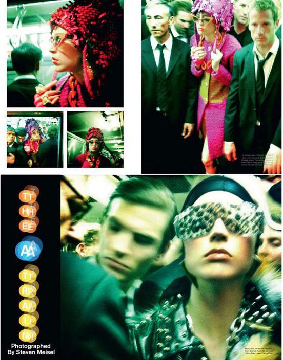 意大利版 Vogue 11月号时尚大片