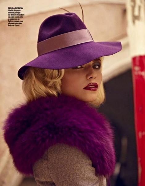 西班牙Vogue 11月号时装大片