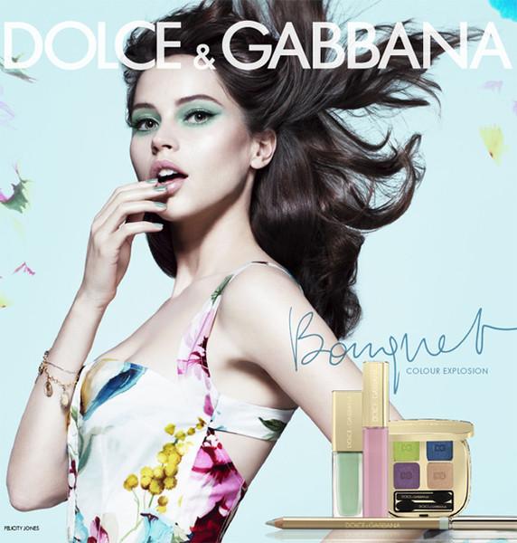 荧光色再度流行 Dolce & Gabbana 2012春季彩妆系列