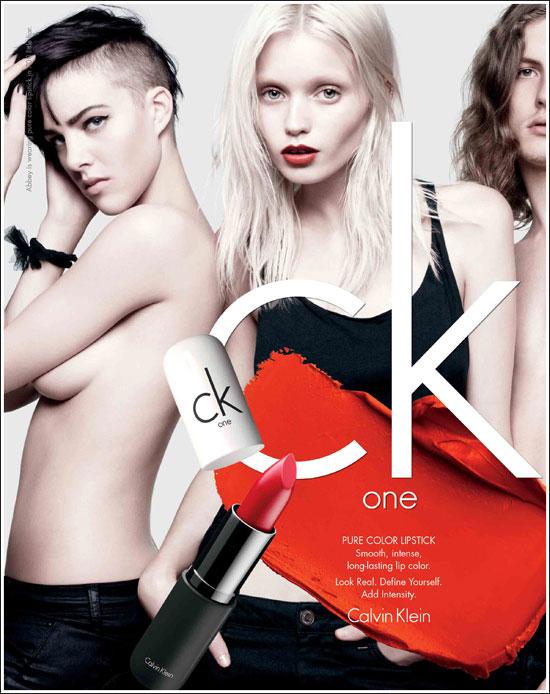 CK One进军彩妆界 2012上市同名系列彩妆