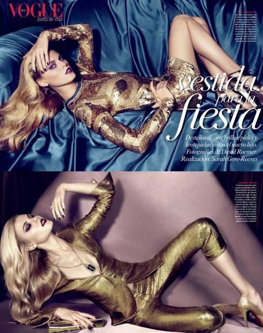 墨西哥版Vogue 11月刊封面
