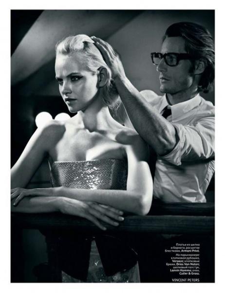 俄罗斯Vogue 11月时尚大片