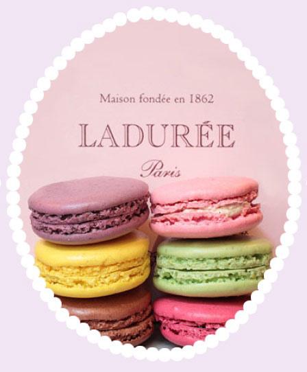 Macaron小圆饼胭脂 巴黎最知名甜品店推出彩妆品