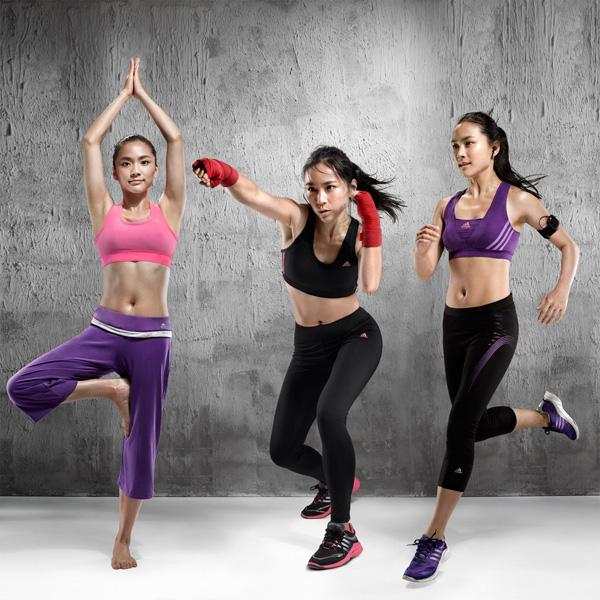 adidas女子训练2012年春季推出Bra Attack系列