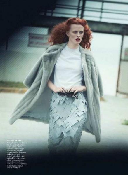 美国版Vogue10月号大片