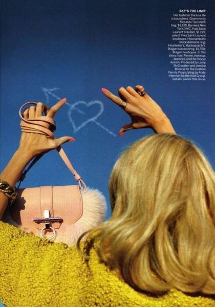 美国版Vogue 九月号时尚大片