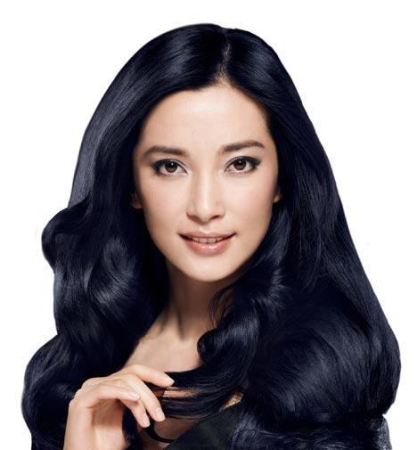 崇尚东方黑发气质美人