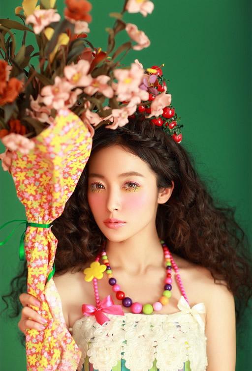 今春最IN清新彩虹妆