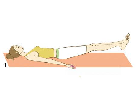 居家收腹操 两周速减2寸腰围