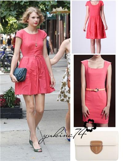 纯色裙装大搜罗 优雅好气质