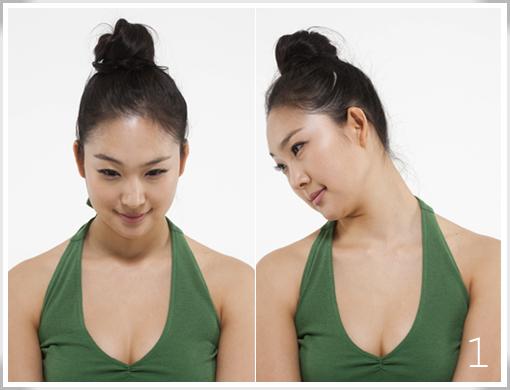 简单瘦脸瑜伽教程 塑造名模小脸