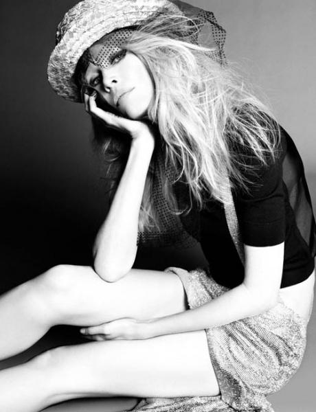 西班牙版Vogue九月时装大片