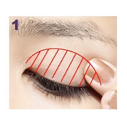 6步图详解眼线画法