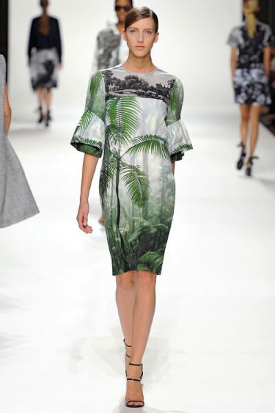 2012春夏巴黎趋势  偶发时尚