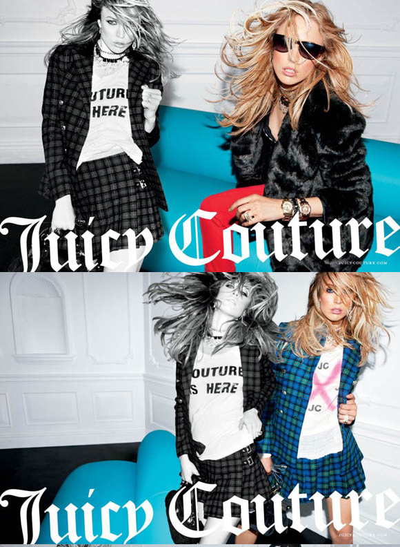 Juicy Couture 2011秋冬广告大片