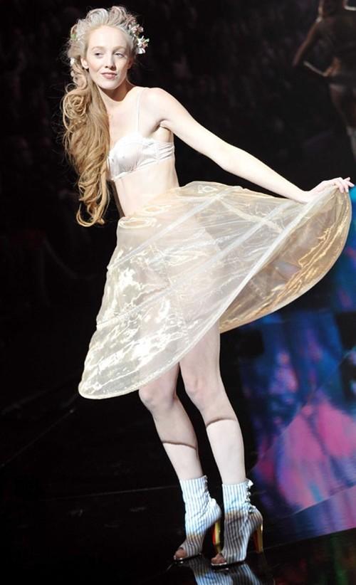 法国时尚透明内衣秀 Etam内衣系列
