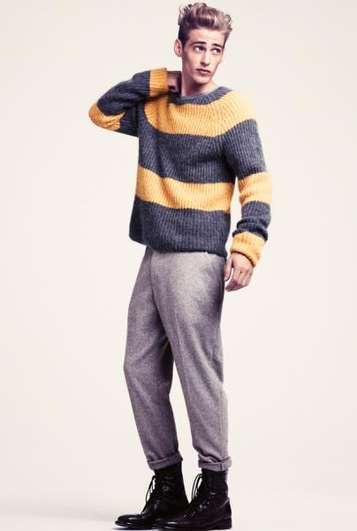 H&M 2011冬季男装系列